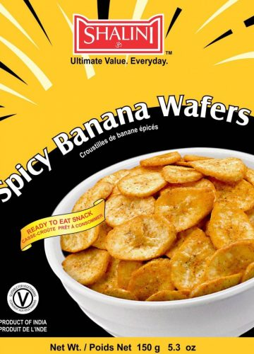 Spicy Banana Wafer 150g