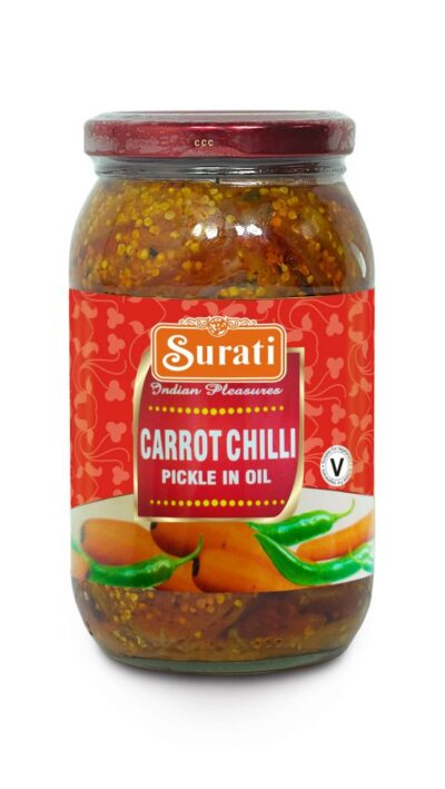 Carrot Chilli Pickle 700g