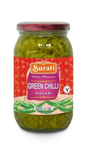 Green Chilli Pickle 283g