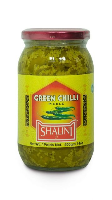 Green Chili Pickle 400g