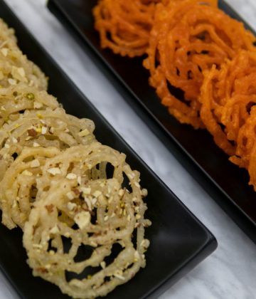 Orange & White Jalebi (bulk)