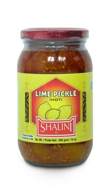 Lime Hot Pickle 400g