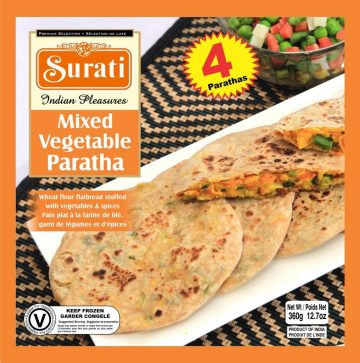 Mix Vegetable Paratha 360g