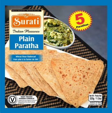 Plain Paratha 325g