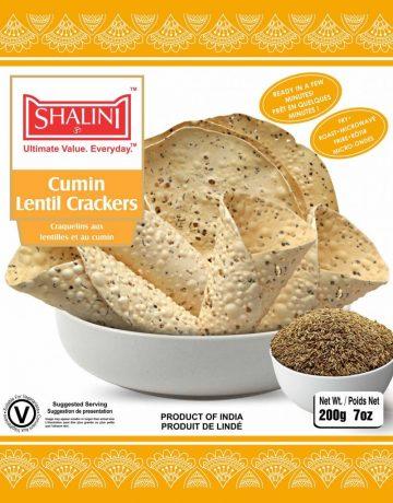 Cumin Lentil Crackers 200g