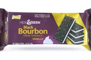 Hide & Seek Black Bourbon Vanilla 100g