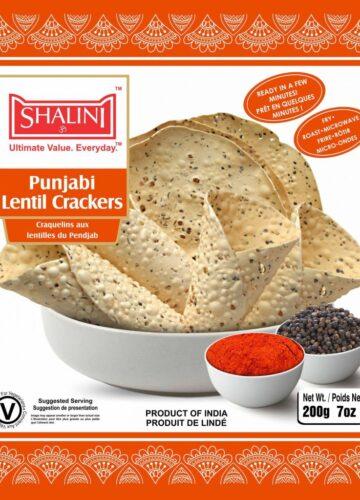 Punjabi Lentil Crackers 200g