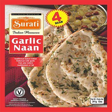 Garlic Naan 341g