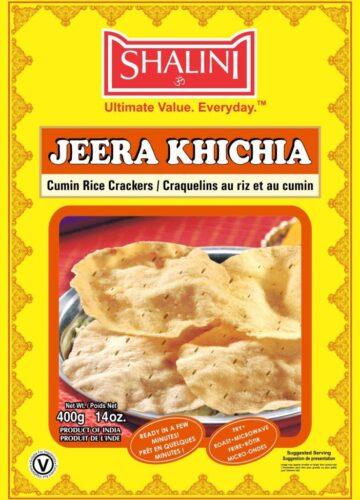 Jeera Khichia Papad 400g