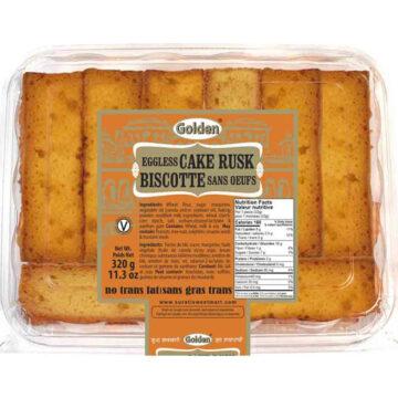 Eggless Cake Rusk 320g / 650g