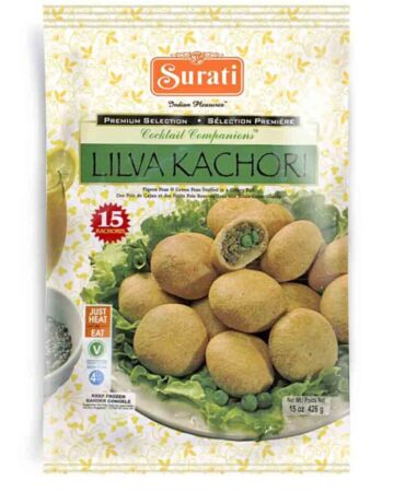 Lilva Kachori 426g (15 pieces) / 150pieces (bulk)