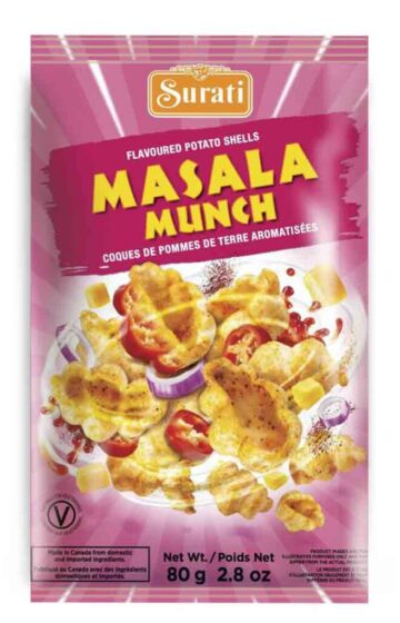Masala Munch Shells 80g