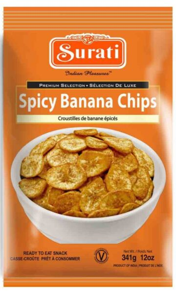 Spicy Banana Chips 341g