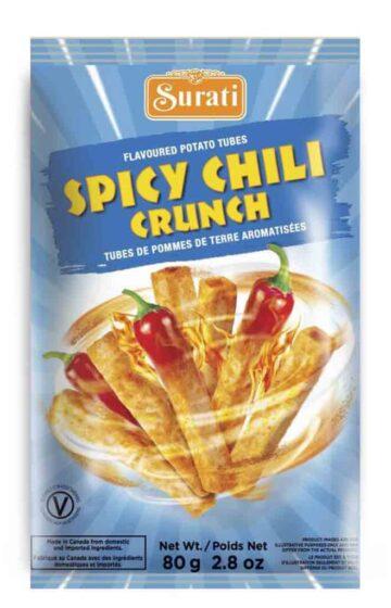 Spicy Chili Crunch Tubes 80g